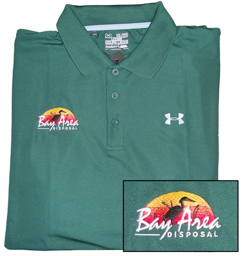 Custom embroidery embroidered hats shirts baltimore for Embroidered work shirts no minimum order